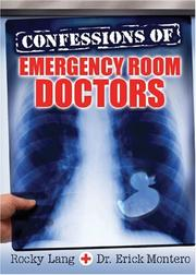 Cover of: Confessions of Emergency Room Doctors