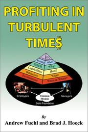 Cover of: Profiting in Turbulent Times