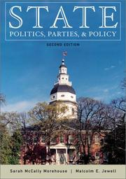 Cover of: State Politics, Parties, and Policy (2nd Edition)