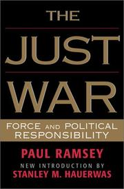 Cover of: The Just War