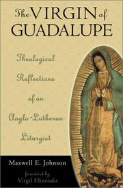 Cover of: The Virgin of Guadalupe