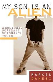 Cover of: My Son Is an Alien: A Cultural Portrait of Today's Youth