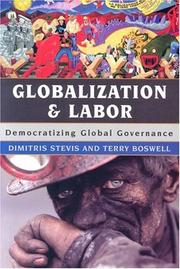 Cover of: Globalization and Labor