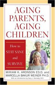 Cover of: Aging Parents, Aging Children