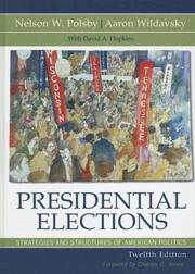 Cover of: Presidential Elections