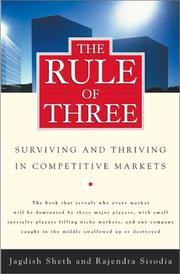 Cover of: The Rule of Three