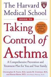 Cover of: The Harvard Medical School Guide To Taking Control Of Asthma