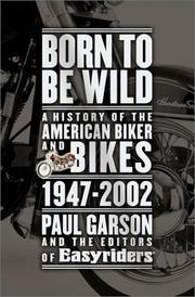 Cover of: Born to Be Wild