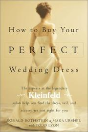 Cover of: How to Buy Your Perfect Wedding Dress