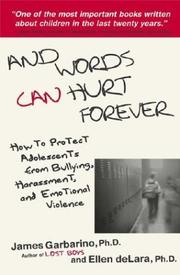 Cover of: And Words Can Hurt Forever