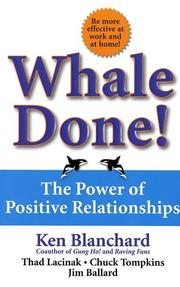 Cover of: Whale Done!