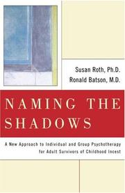 Cover of: Naming the Shadows