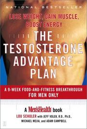 Cover of: The Testosterone Advantage Plan