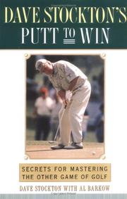 Cover of: Dave Stockton's Putt to Win