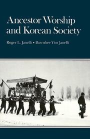 Cover of: Ancestor Worship and Korean Society