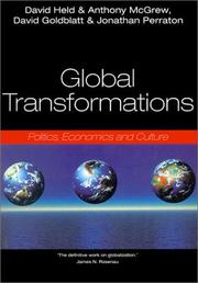 Cover of: Global Transformations
