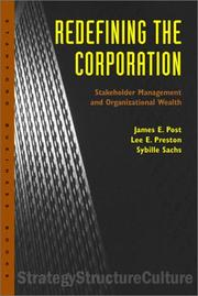 Cover of: Redefining the Corporation