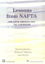 Cover of: Lessons from NAFTA