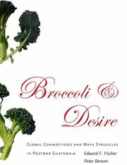 Cover of: Broccoli and Desire