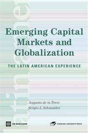 Cover of: Emerging Capital Markets and Globalization