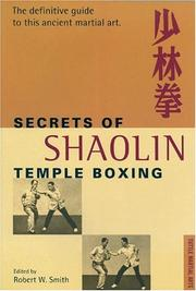 Cover of: Secrets of Shaolin Temple Boxing
