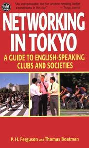 Cover of: Networking in Tokyo