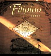 Cover of: Filipino Style
