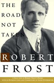 Cover of: The Road Not Taken (Owl Books)