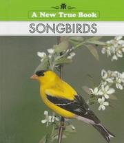 Cover of: Songbirds