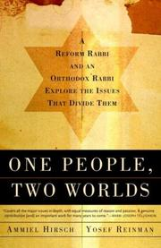 Cover of: One People, Two Worlds