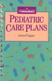 Cover of: Pediatric Care Plans