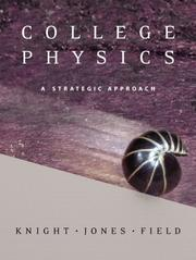 Cover of: College Physics