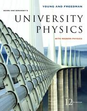 Cover of: University Physics with Modern Physics with MasteringPhysics(TM) (12th Edition) (MasteringPhysics Series)