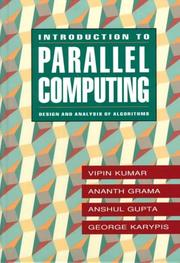 Cover of: Introduction to Parallel Computing