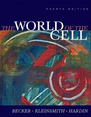 Cover of: The World of the Cell