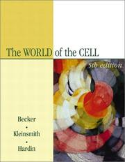 Cover of: The World of the Cell (5th Edition)