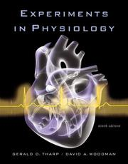 Cover of: Experiments in Physiology (9th Edition)