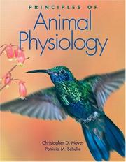 Cover of: Principles of Animal Physiology (The Physiology Place Series)