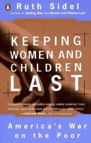 Cover of: Keeping women and children last: America's war on the poor