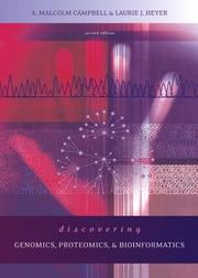Cover of: Discovering Genomics, Proteomics and Bioinformatics (2nd Edition) (The Genetics Place Series)