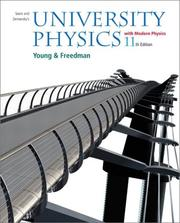 Cover of: University Physics with Modern Physics, 11th Edition