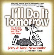 Cover of: I'll Do It Tomorrow