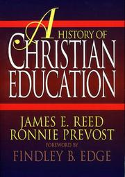 Cover of: A History of Christian Education