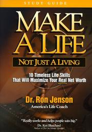 Cover of: Make a Life, Not Just a Living