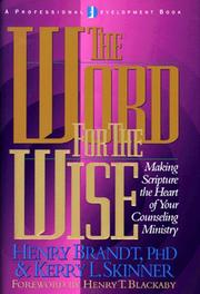 Cover of: The Word for the Wise