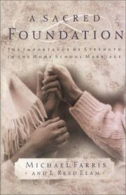 Cover of: A Sacred Foundation