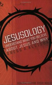 Cover of: Jesusology