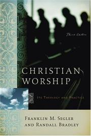 Cover of: Christian Worship