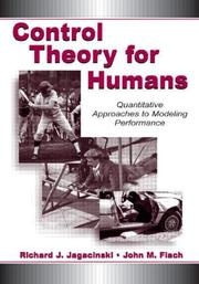 Cover of: Control Theory for Humans