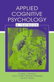 Cover of: Applied Cognitive Psychology